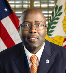 V.I. Police Commissioner Trevor Velinor