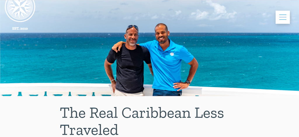 The Uncommon Caribbean website of St. Croix brothers Steve and Patrick Bennet boasts more than 150,000 fans. (Submitted photo)
