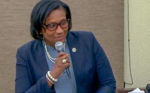 Sen. Donna Frett-Gregory (V.I. Legislature photo)