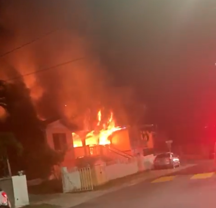 Fire Destroy's Anna's Retreat Home