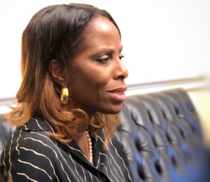 Delegate to Congress Stacey Plaskett (Source file photo by April Knight)