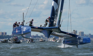 United States SailGP Team competes in Season 1 of the SailGP event in New York City, June 22, 2019. (Photo: Bob Martin for SailGP)