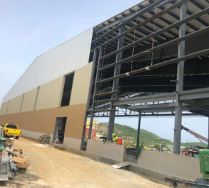 The expansion of the Cyril E. King Airport general aviation area for private jets will create the largest fixed-base operator in the Caribbean. (Photo provided by VIPA)
