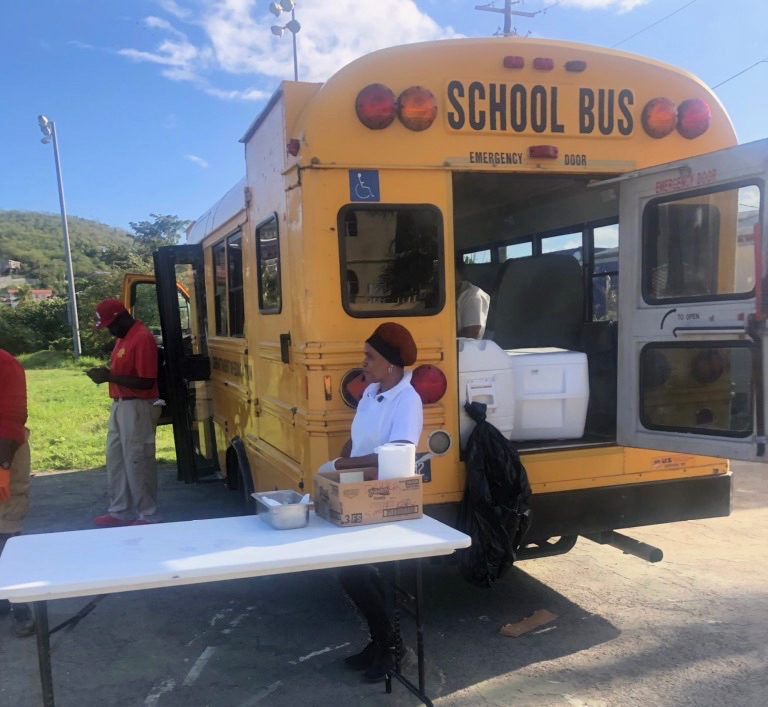 Education Consolidating Breakfast, Lunch Distribution