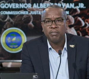 Gov. Albert Bryan, Jr. updated the public Friday on the territory's COVID-19 response efforts.