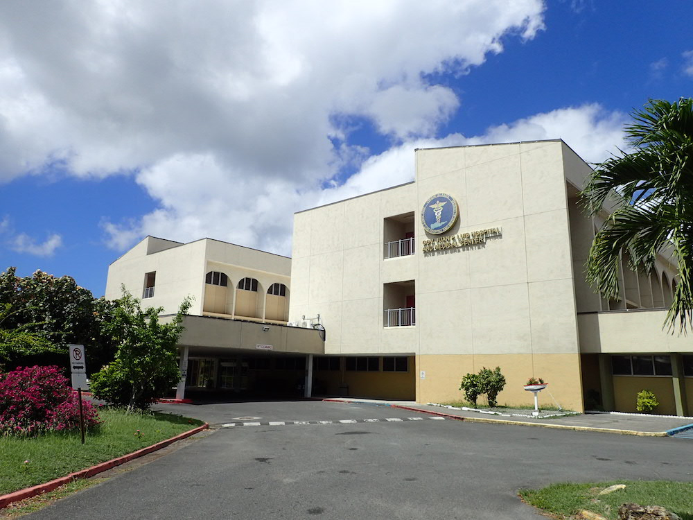 Gov. Juan F. Luis Hospital pictured before the 2017 hurricanes. (Source photo by Susan Ellis)