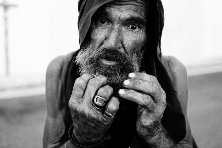 """Clay Jones Homeless Project: Louis """"Frenchy"""" Dudley"""