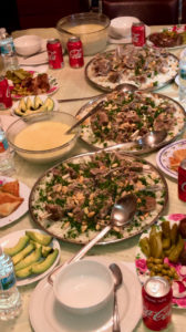 Mansaf is a traditional Arab dish. (Source photo by Nour Z. Suid)