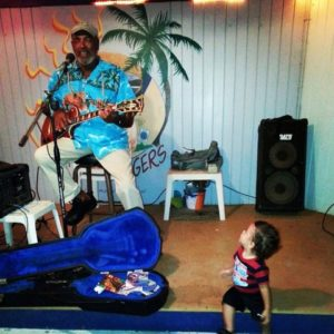 Performing at Cheeseburgers in America's Paradise, Llewellyn Westerman has enchanted young and old for years. (Photo submitted by Llewellyn Westerman)