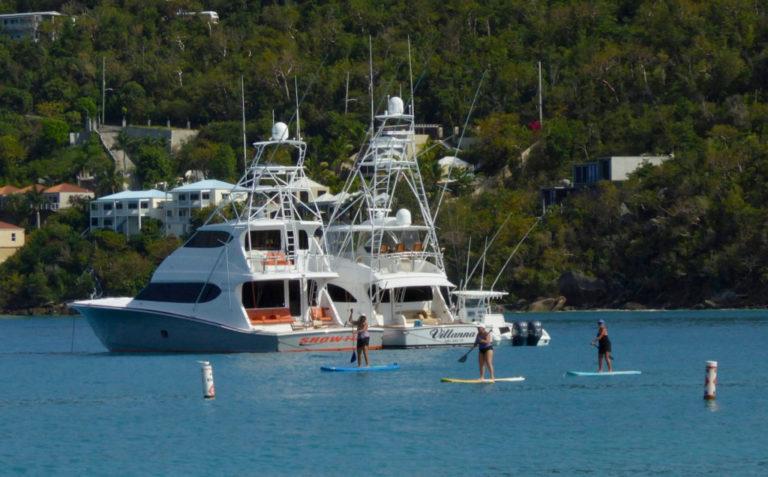 Visiting Armada of U.S. Yachts Causes Concern at Magens Bay