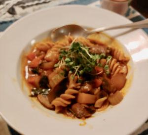 Mushroom Potato Stew