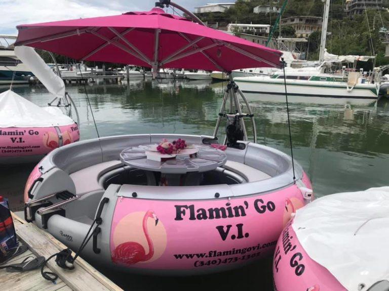 Flamin' Go V.I. Ready for Grand Opening