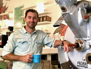 Ramsey Smith, owner of Virgin Islands Coffee Roasters on St. Thomas, was recently honored as part of the Sprudge Twenty Class of 2020. (Photo submitted by Ramsey Smith)