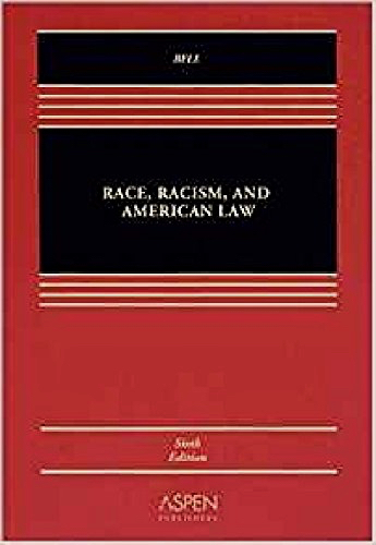 "The book, ""Race, Racism and American Law,"" by Derrick Bell, that, as a law professor, Hall used for almost 30 years."