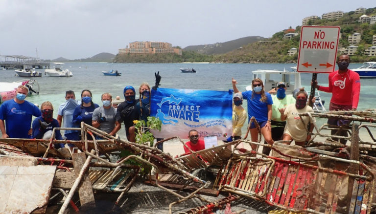 Coki Cleanup Removes 600 Pounds of Debris from Ocean