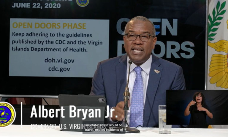 Bryan Threatens Noncomplying Businesses with Shutdown as COVID Cases Climb