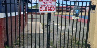 Ball fields around the territory remain closed while officials work out how to make them safe. (Source photo by Kyle Murphy)