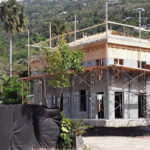 A home under construction in the USVI.