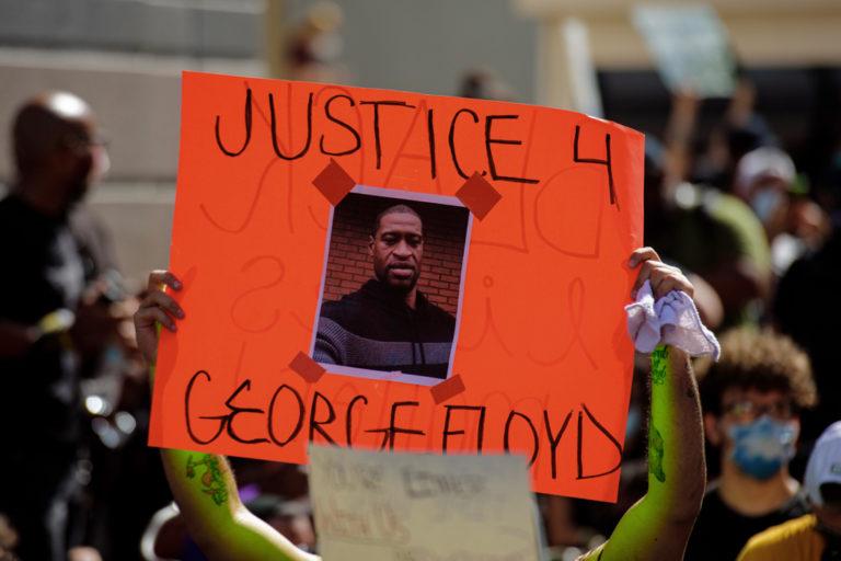 Virgin Islanders Organize Protests in Memory of George Floyd