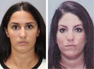 Loretta Biss, left, and Nicole P. Williams turned themselves in to police on Sunday. (VIPD photos)