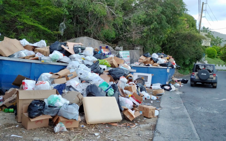 Garbage Piling up as Government Grapples with Cash Shortages, Violence