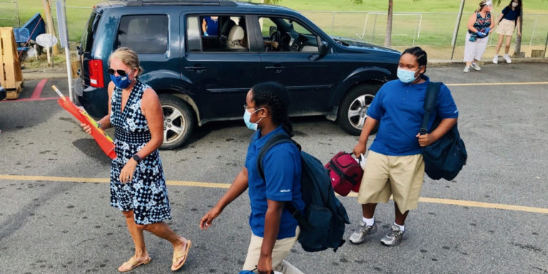 Back to Class for Antilles Students