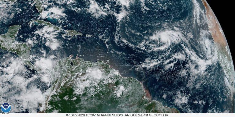 Mid-Atlantic Storm System Becomes Tropical Depression