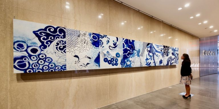 St. Croix Artist Exhibits Her Work in New York