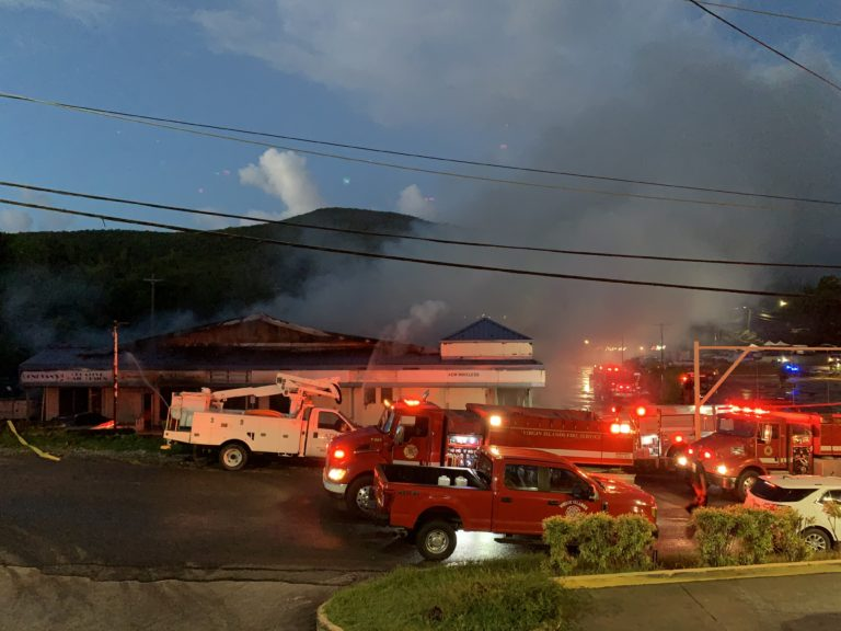 "Fort Mylner Shopping Center ""Fully Engulfed"" in Flames *Update*"