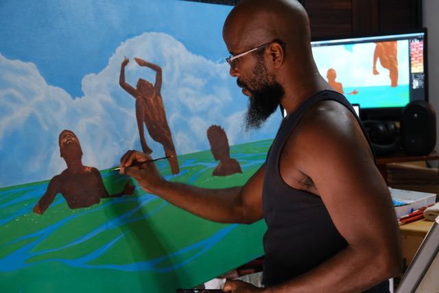 St. Croix Native's Artwork Chosen for Nationwide Billboard Project