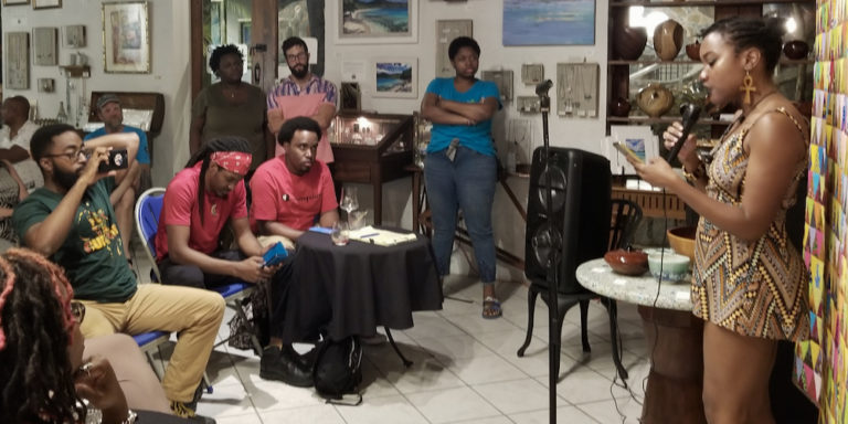 STJ Poetry Club Celebrates One Year Anniversary