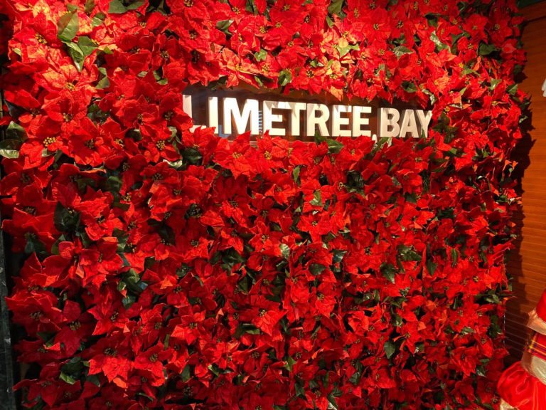 Limetree Bay Brings Crucian Christmas Theme to Their Administration Building