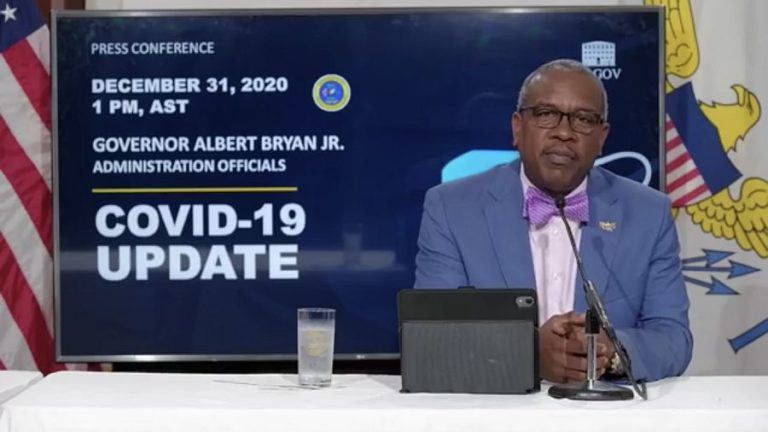 Governor: No Travel into USVI Without Negative COVID Test