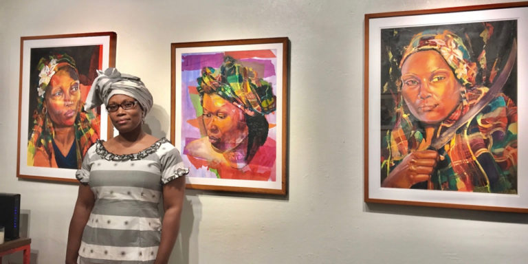 Cane Roots Art Gallery Hosts 'Women Alone' for Grand Opening