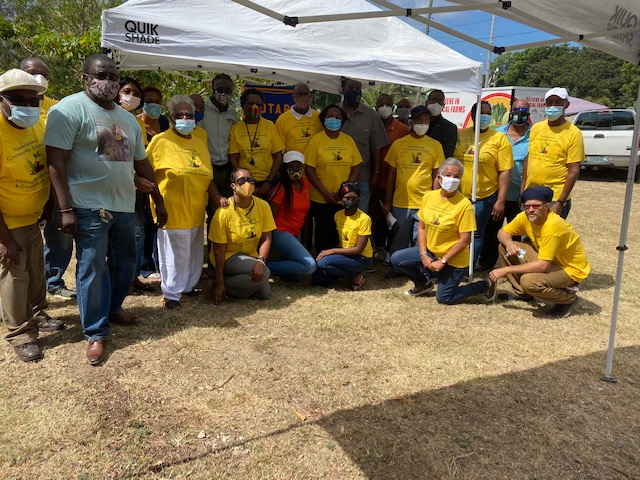 Rotary St. Croix West Helps Community Gardens