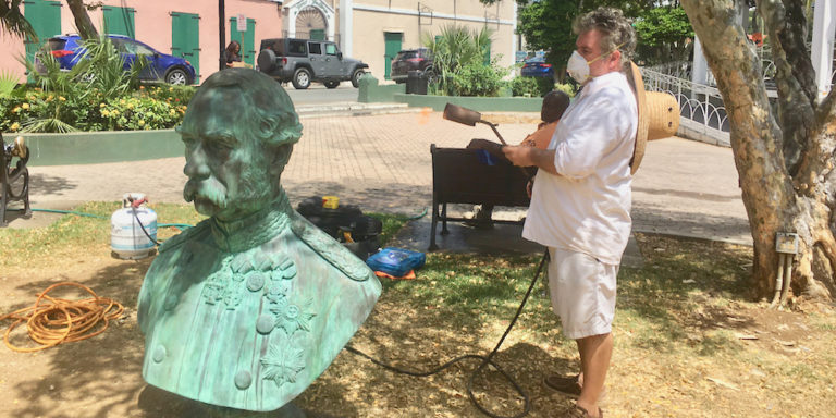 Danish King's Bust Removed to Make Way for Emancipation History