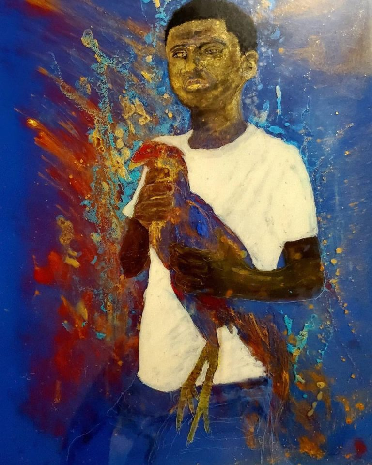 """Lucien Downes' Painting Exhibit """"Virgin Islands Contemporary"""" to Open Saturday at 81C"""
