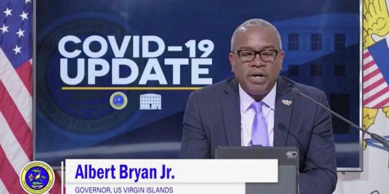 Bryan Says USVI has Lowest Positivity Rate Under U.S. Flag