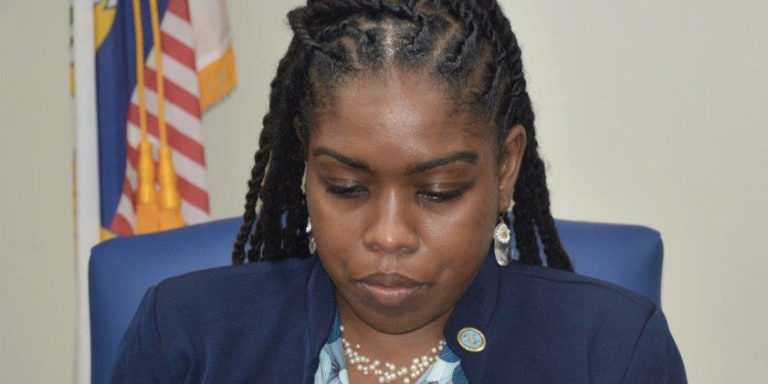 Sarauw Calls V.I. Roads Deplorable, Especially in Frederiksted