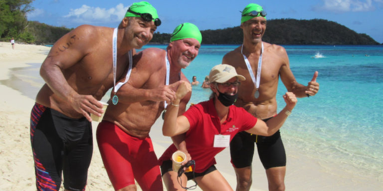 Puerto Rican Trio Captures Top Spots at Beach 2 Beach Power Swim