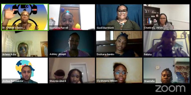 UVI Speech Students Share Their Final Presentations Online