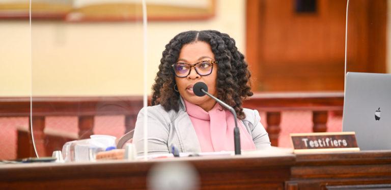 Governor's Financial Team Presents First Biennial Budget to Legislators