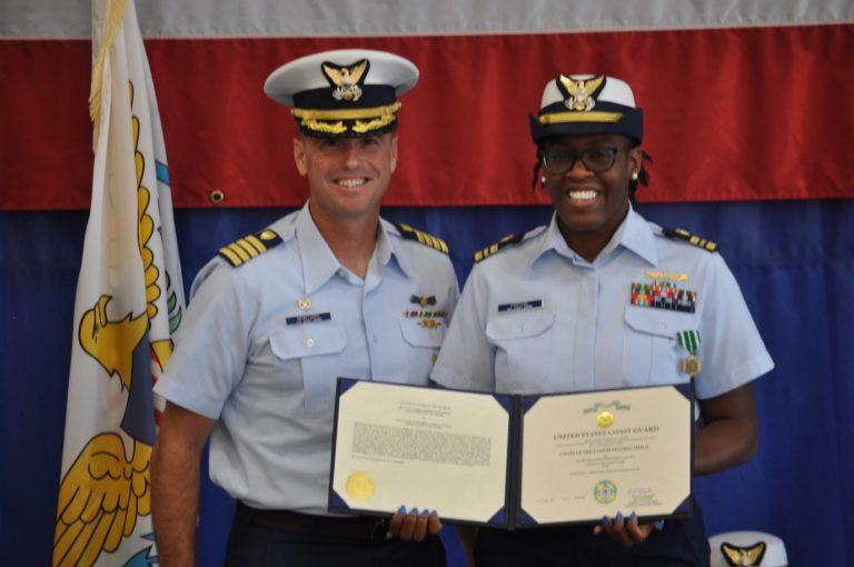 St. Thomas Native Makes Coast Guard History as Newly-Minted Commander