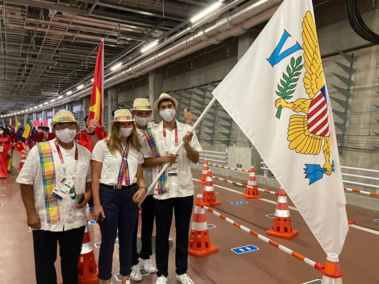 USVI Flag Flies High at Olympics Opening Ceremony *Update*