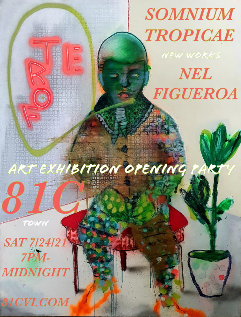 81C Gallery To Exhibit Paintings by Nel Figueroa on July 24th