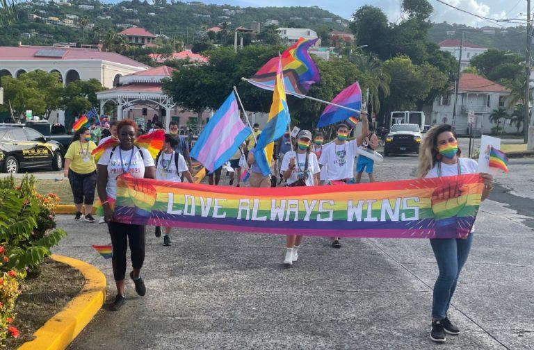 LGBTQ+ Community Celebrates First Walk On St. Thomas