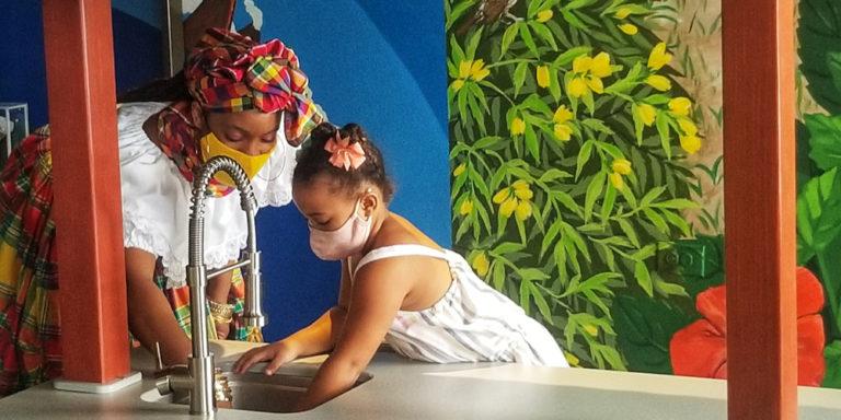 V.I. Children's Museum Unveils Mango Farm to Market Exhibit