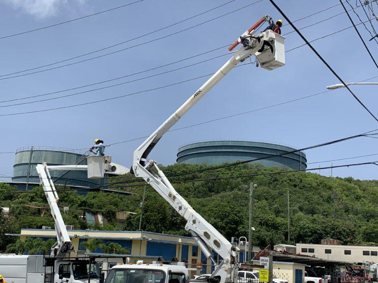 Monday's WAPA Outage Tied to Hurricane-Damaged Substation