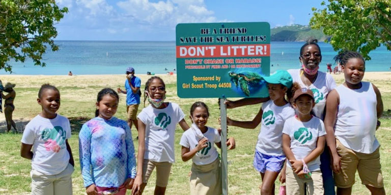 Over 4,400 Pieces of Trash Removed from Brewers Bay Beach