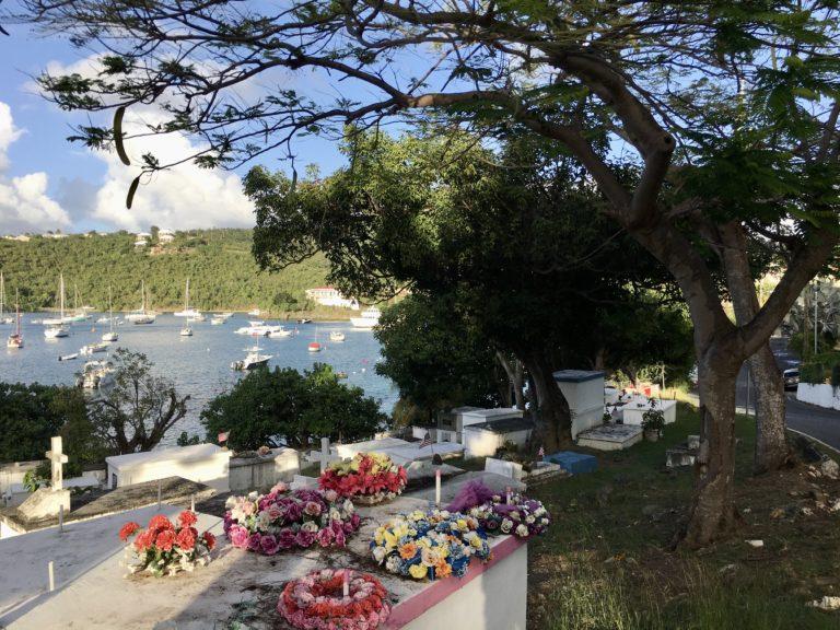 WAPA Road Work Near Cruz Bay Cemetery Reveals Human Remains